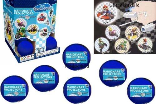 Nintendo DS 6x Gachabox ,Mario Taschenprojektoren zu Mario Kart Wii in jeder Box befindet sich 1 Projektor = 6 Nintendo Mario Taschenprojektoren zu Mario Kart Wii. Der Renner bei allen Nintendo Fans