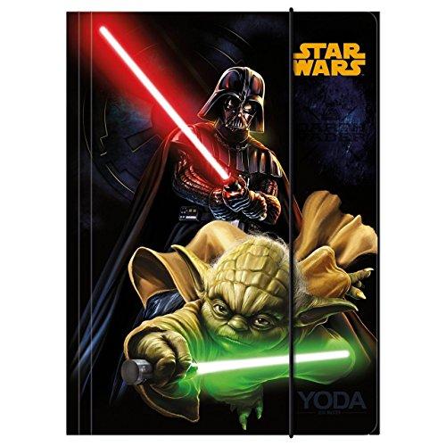 Teczka z gumka A4 Star Wars