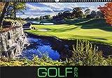 Golf 2019 - Sportkalender - internationaler Golfkalender (49 x 34) - Wandkalender
