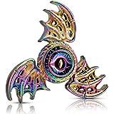Phoenix Cool Fidget Hand Spinners Dragon Wing Finger Spinner Metal Focus Stainless Steel Fingertip Gyro Stress Relief Spiral