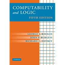 Computability and Logic 5th Edition
