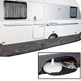 BoCamp Wohnwagen Bodenschürze Deluxe, mit großen Taschen von 4 - 6 m