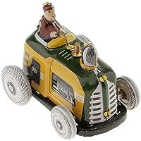 MagiDeal Vintage Wind-up Modelo Clockwork Tin Juguete Coleccionale Regalos para Niños - Tractor Diesel