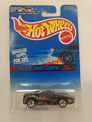 Hot Wheels Ferrari 355 - Serie Rockin' Rods 2/4 (Long card)