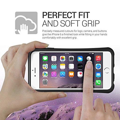 Coque iPhone 6S Plus, VRS Design [Thor][Noir] - [Anti Chocs Case][Military Grade][Anti Scratch Etui][Housse Protection] For Apple iPhone 6/6S Plus Or Rose