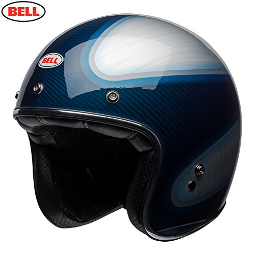 Bell Helm Custom 500, Carbon Jager Candy Blue, Größe M