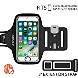 Best Running Armband For Samsungs - PORTHOLIC Universal Sweat Resistant Sports Armband For iPhone Review