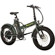 Monster 20 - Bicicleta Eléctrica Plegable - 20 Pulgadas - Motor 500W, 48V-12ah