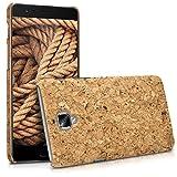 kwmobile OnePlus 3 / 3T Hülle - Handyhülle für OnePlus 3 / 3T - Handy Case Kork Cover Schutzhülle