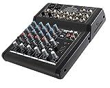 SOUNDSATION NEOMIX 202 - Mixer 4 Canali 8 Ingressi Per Home Studio, Live, Karaoke, Ecc..