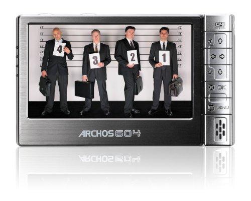 Archos 604 Tragbarer Mediaplayer 30 GB 16:9 10,9 cm (4,3 Zoll) Display anthrazit Archos Multimedia