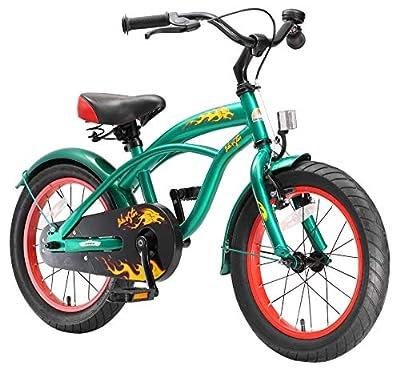 BIKESTAR Kinderfahrrad für Jungen ab 4-5 Jahre   16 Zoll Kinderrad Cruiser   Fahrrad für Kinder