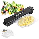 Macchine sottovuoto per alimenti, Adkwse Sigillatore a vuoto con 15 pacchetti di sigillanti per regalo gratuito