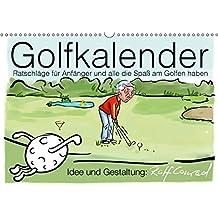 Golfkalender für Anfänger und alle die Spaß am Golfen haben (Wandkalender 2019 DIN A3 quer): Karikaturen zum Thema Golf (Monatskalender, 14 Seiten ) (CALVENDO Sport)