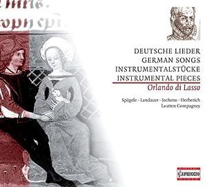 German Songs, Instrumental Pieces from CAPRICCIO