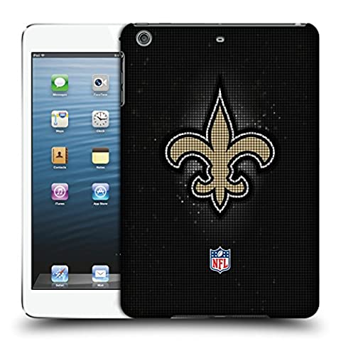 Officiel NFL LED 2017/18 New Orleans Saints Étui Coque D'Arrière Rigide Pour Apple iPad mini 1 / 2 / 3
