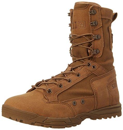 5.11 Tactical Skyweight Waterproof Side Zip Boot,Dark Coyote,7 D(M) US