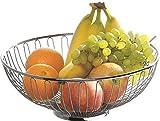 Esmeyer Paris - Cestino per pane e frutta Paris in filo metallico acciaio inox 18/10