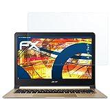 atFolix Schutzfolie kompatibel mit Acer Swift 7 Panzerfolie, ultraklare und stoßdämpfende FX Folie (2X)