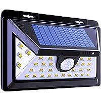 Solarleuchten Im Freien - Helle Außenleuchten 34 LEDs - Weitwinkel Im Freien Licht Modell Wasserdicht Ip65 Garten... preisvergleich bei billige-tabletten.eu