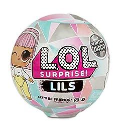 L.O.L. Surprise ! 560319 L.O.L Lils Série de Boules Hivernales Contenant 5 Surprises (Le Style Peut Varier)