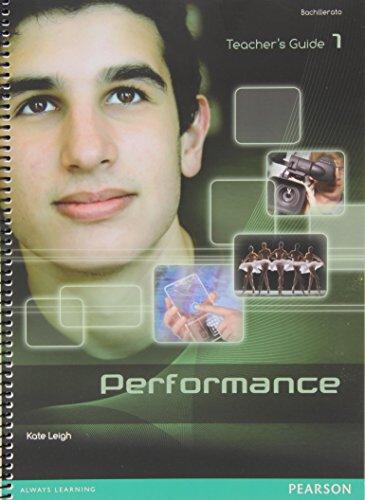 Performance 1 Teacher's Pack - 9788498376142