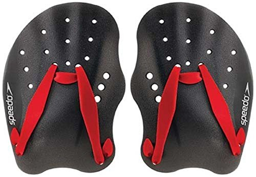 Speedo Tech hydrodynamische Design Silikon Schwimmen Training Aid Hand Paddel Paar -