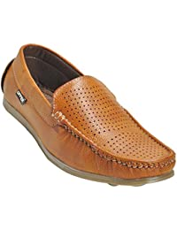 Kolapuri Centre Tan Color Casual Slip On Shoe For Men's - B075MDZZBQ