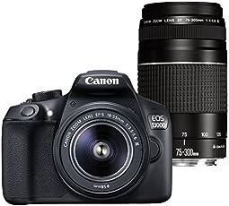 Canon EOS 1300D / Rebel T6 / Kiss X80 18-55/3.5-5.6 EF-S III 75-300/4-5.6 EF III