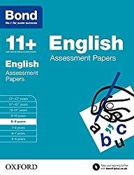 Bond 11+: English Assessment Papers: 8-9 years