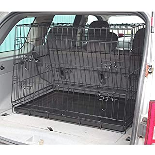 Generic .CARRIER PET B CARRIER PET BOOT PUPPY L C CAR DOG AVEL CA SLOPED TRANSPORT CRATE ORT CRATE CAGE TRAVEL RANSP