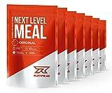 Mahlzeitenersatz Shake von Runtime | Protein-Shake mit Vitaminen, Mineralstoffen und Ballaststoffen | Mit wertvollen BCAAs und Kollagen Hydrolysat | Next Level Meal 7x150g (Original)