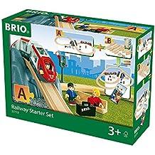 BRIO 33773 - Eisenbahn Starter Set A, bunt