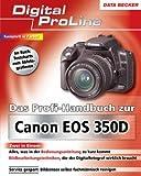 Das Profi-Handbuch zu Canon EOS 350D