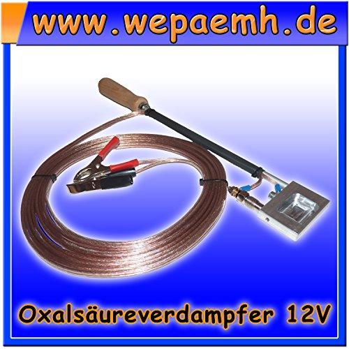 Preisvergleich Produktbild Oxalsäure Pfannen Verdampfer - Varroa Milbe - 12 Volt