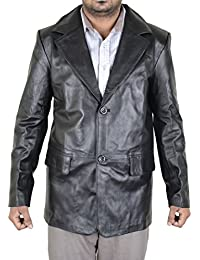 mens Real leather jacket=Reunion coat=Available sizes XS---5XL/Colours:Red,Green,Blue,White,Browns,Black