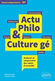 Actu Philo & Culture gé