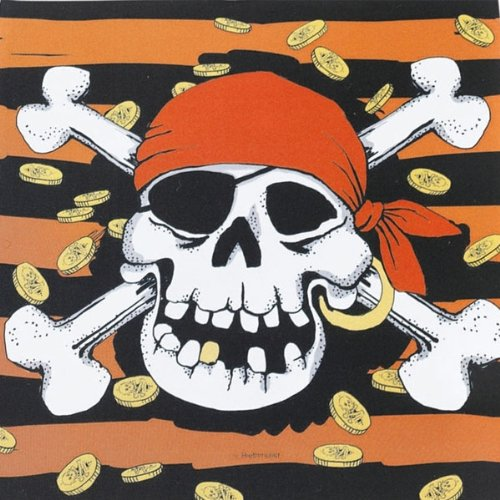 8 Pirate Party Servietten