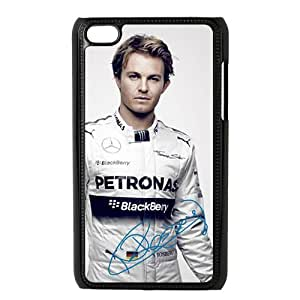 Nice Nico Rosberg signed HD Image Personalized Apple iPod Touch 4 Hard case cover