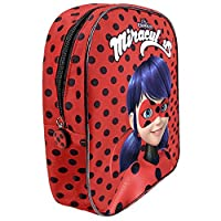 Miraculous Tales of Ladybug & Cat Noir - Backpack Lady Bug for Kindergarten Little Girl - Perletti