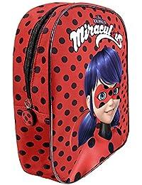 Preisvergleich für Miraculous - Geschichten von Ladybug und Cat Noir - Rucksack für den Kindergarten - Perletti - 30 x 24 x 10 cm