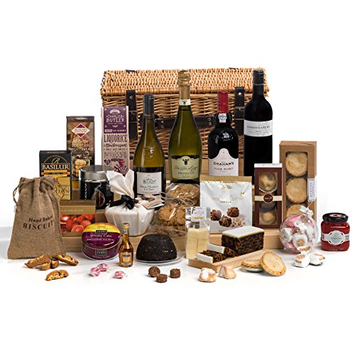 Hay Hampers The Very Merry Christmas Hamper Basket - Free UK Delivery