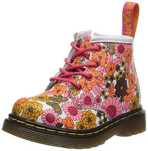 Dr Martens Brooklee B Boots - Pink Vintage Daisy