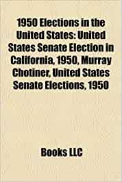 1950 United States Senate election in California