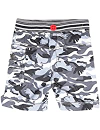 Krystle Boy's Army Printed Cotton Shorts for Kids