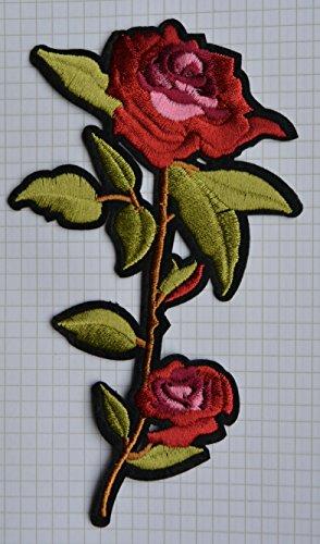 flor-lovely-rosa-gamuza-de-bordado-hierro-en-parches-apliques