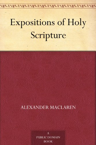 Expositions of Holy Scripture book cover
