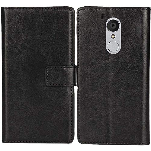 Lankashi PU Leder Tasche Hülle Für MEDION Life X5520 MD 99607 5.5