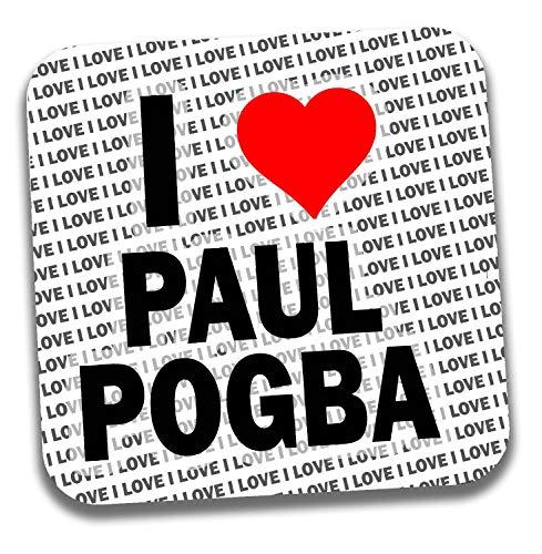 I Love Paul Pogba bevande sottobicchiere-regalo-Compleanno-Natale-calza della Befana