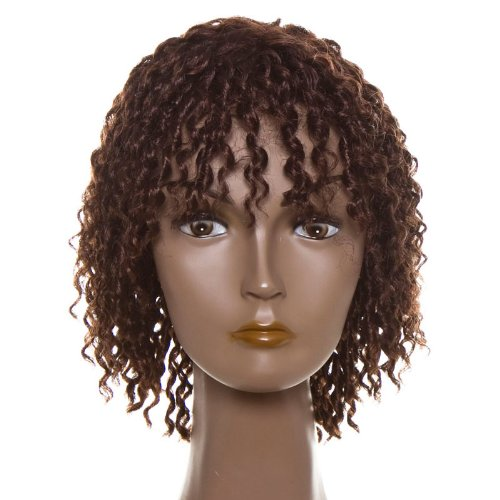 Dream Hair Wig Dolly : P4/30 cheveux synthétiques perruque court bouclés cheveux synthétiques)